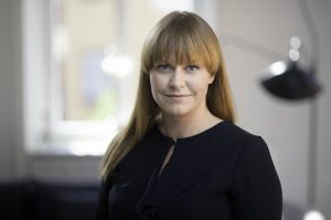Karin Stjärne. Foto: TV3/Nicklas Gustafsson